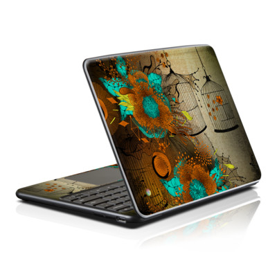 Samsung Series 5 Chromebook Skin - Rusty Lace