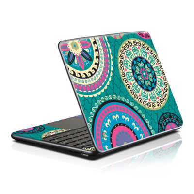 Samsung Series 5 Chromebook Skin - Silk Road