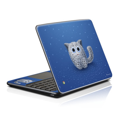Samsung Series 5 Chromebook Skin - Snow Leopard