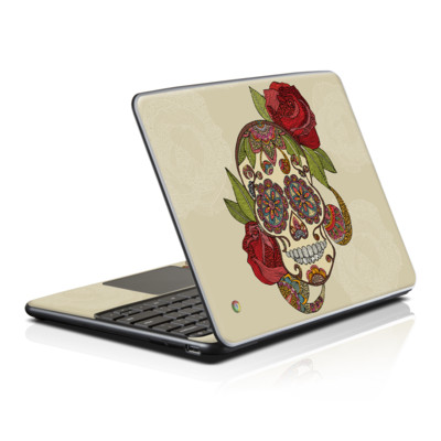 Samsung Series 5 Chromebook Skin - Sugar Skull