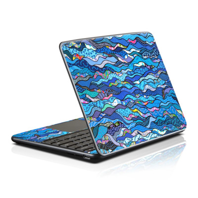 Samsung Series 5 Chromebook Skin - The Blues