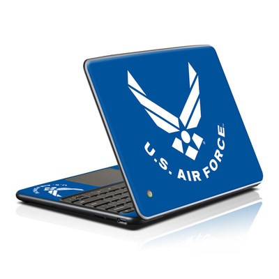 Samsung Series 5 Chromebook Skin - USAF Blue