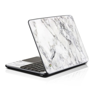Samsung Series 5 Chromebook Skin - White Marble