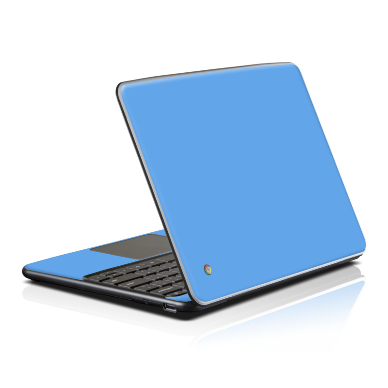 samsung series 5 chromebook skin solid state blue by