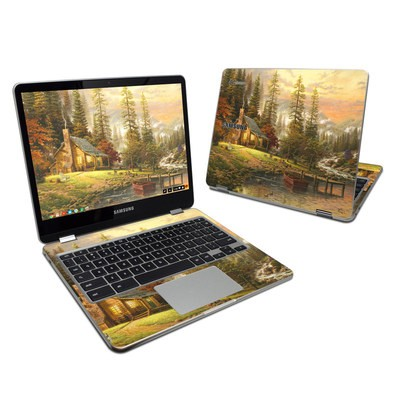 Samsung Chromebook Plus Skin - A Peaceful Retreat
