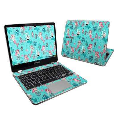 Samsung Chromebook Plus 2017 Skin - Babydoll Mermaids