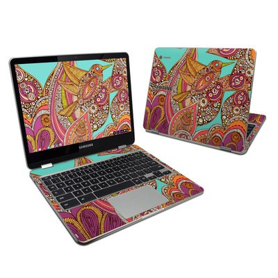 Samsung Chromebook Plus 2017 Skin - Bird In Paradise