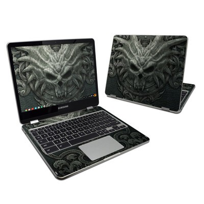Samsung Chromebook Plus 2017 Skin - Black Book