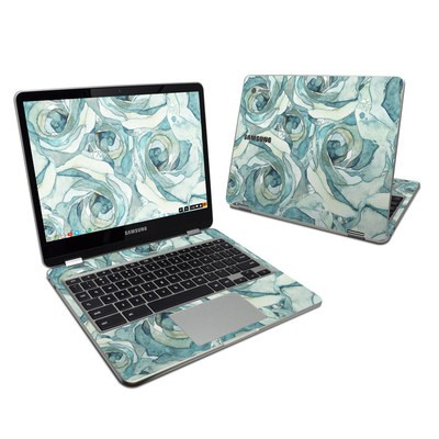 Samsung Chromebook Plus 2017 Skin - Bloom Beautiful Rose