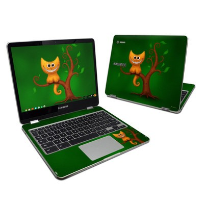 Samsung Chromebook Plus 2017 Skin - Cheshire Kitten