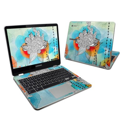 Samsung Chromebook Plus Skin - Coral