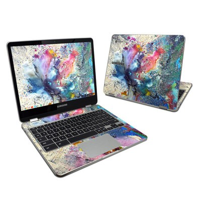 Samsung Chromebook Plus Skin - Cosmic Flower