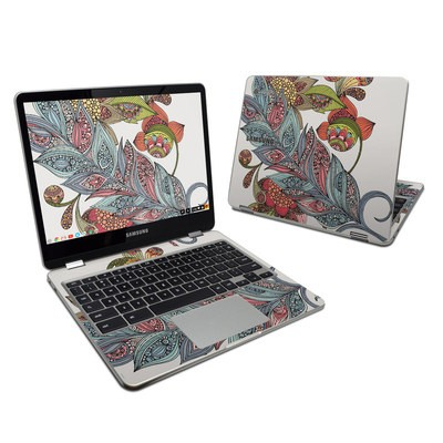 Samsung Chromebook Plus 2017 Skin - Feather Flower