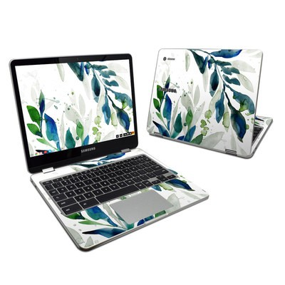 Samsung Chromebook Plus (2017) Skin - Floating Leaves