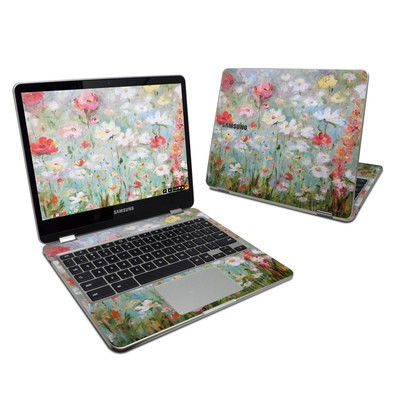 Samsung Chromebook Plus Skin - Flower Blooms
