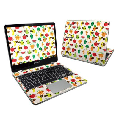 Samsung Chromebook Plus 2017 Skin - Fooditude