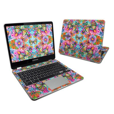 Samsung Chromebook Plus 2017 Skin - Free Butterfly