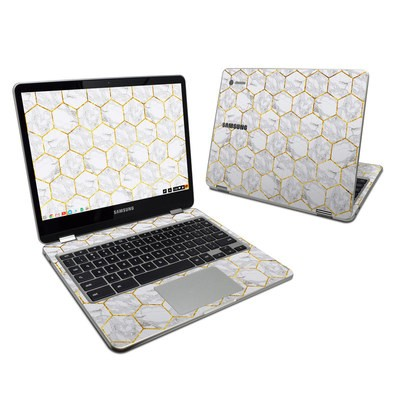 Samsung Chromebook Plus 2017 Skin - Honey Marble