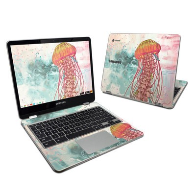Samsung Chromebook Plus 2017 Skin - Jellyfish