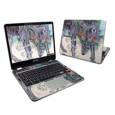 Samsung Chromebook Plus 2017 Skin - Journeying Spirit