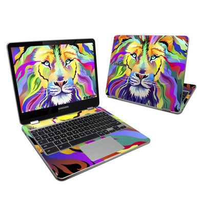Samsung Chromebook Plus 2017 Skin - King of Technicolor