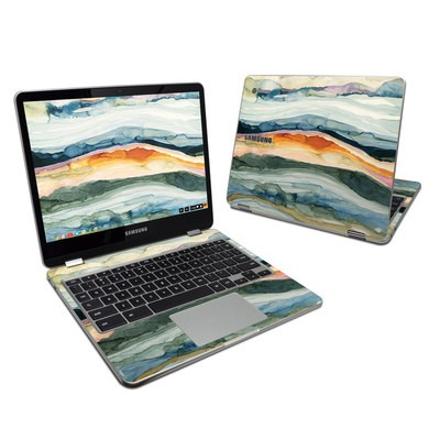 Samsung Chromebook Plus 2017 Skin - Layered Earth