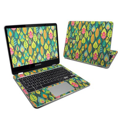Samsung Chromebook Plus 2017 Skin - Little Leaves