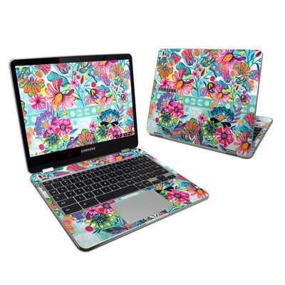 Samsung Chromebook Plus 2017 Skin - Lovely Garden