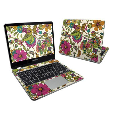 Samsung Chromebook Plus Skin - Maia Flowers