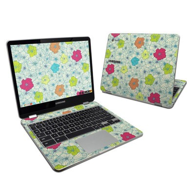 Samsung Chromebook Plus 2017 Skin - May Flowers