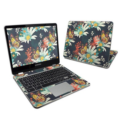 Samsung Chromebook Plus 2017 Skin - Monarch Grove