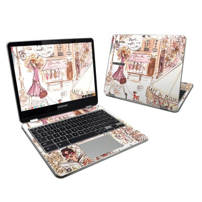 Samsung Chromebook Plus 2017 Skin - Paris Makes Me Happy