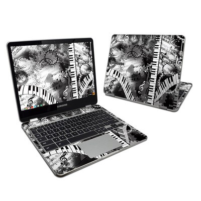 Samsung Chromebook Plus Skin - Piano Pizazz