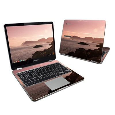 Samsung Chromebook Plus 2017 Skin - Pink Sea