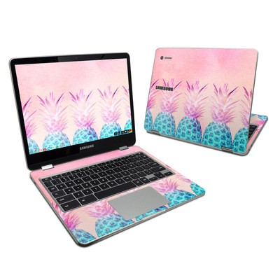 Samsung Chromebook Plus Skin - Pineapple Farm