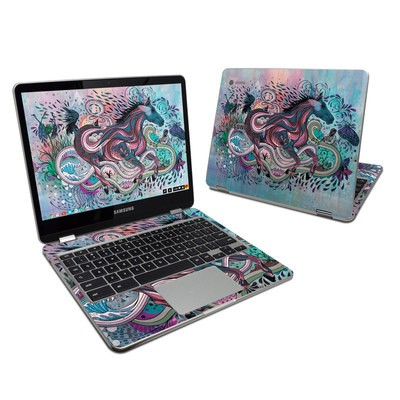 Samsung Chromebook Plus 2017 Skin - Poetry in Motion