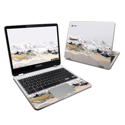 Samsung Chromebook Plus Skin - Pastel Mountains