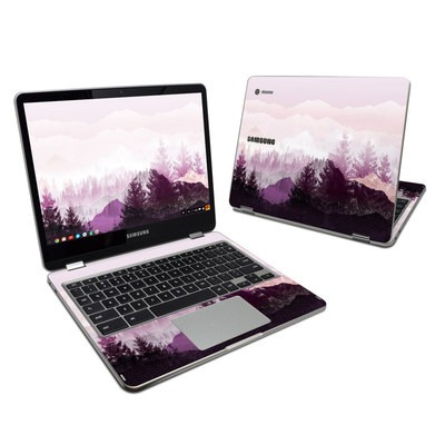 Samsung Chromebook Plus Skin - Purple Horizon