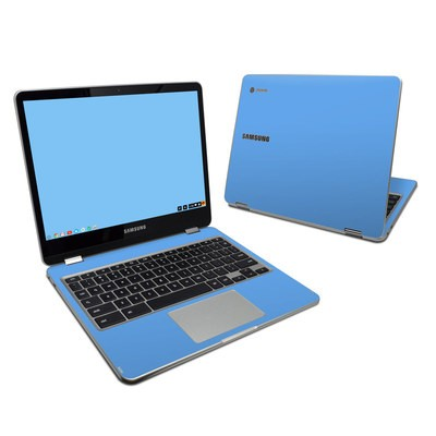 Samsung Chromebook Plus Skin - Solid State Blue