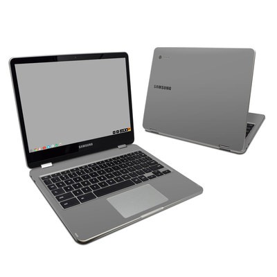 Samsung Chromebook Plus Skin - Solid State Grey