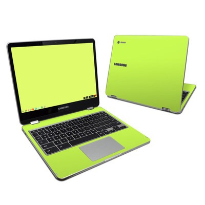 Samsung Chromebook Plus 2017 Skin - Solid State Lime