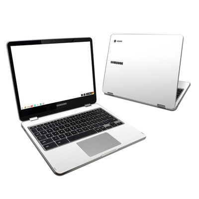 Samsung Chromebook Plus Skin - Solid State White