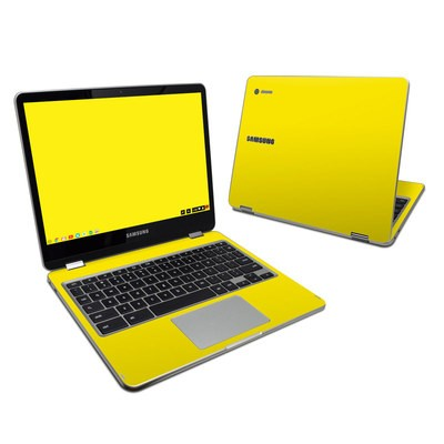 Samsung Chromebook Plus 2017 Skin - Solid State Yellow