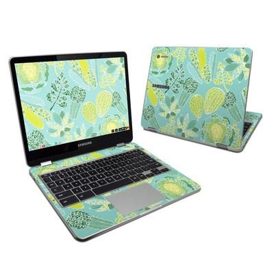 Samsung Chromebook Plus 2017 Skin - Succulents