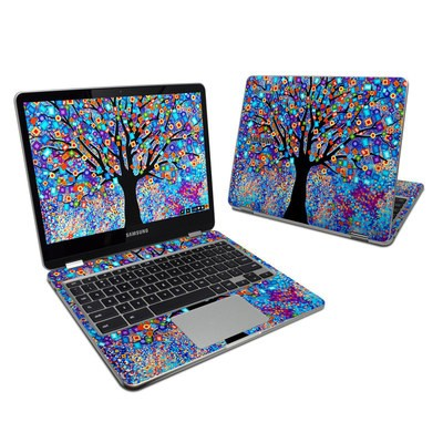 Samsung Chromebook Plus 2017 Skin - Tree Carnival