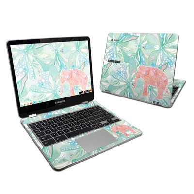 Samsung Chromebook Plus (2017) Skin - Tropical Elephant