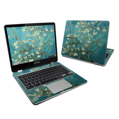 Samsung Chromebook Plus 2017 Skin - Blossoming Almond Tree