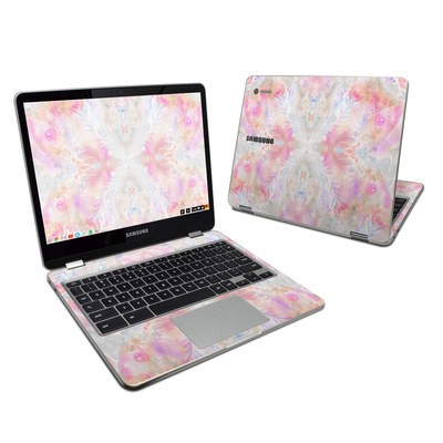 Samsung Chromebook Plus 2017 Skin - Watercolor Damask
