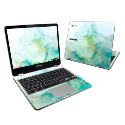 Samsung Chromebook Plus Skin - Winter Marble