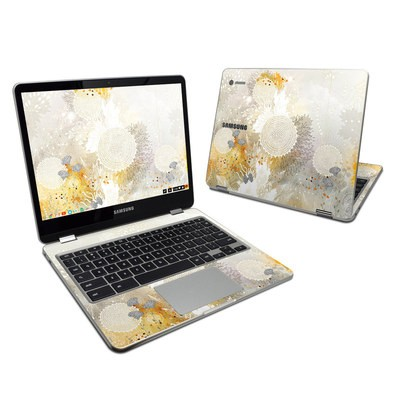 Samsung Chromebook Plus Skin - White Velvet